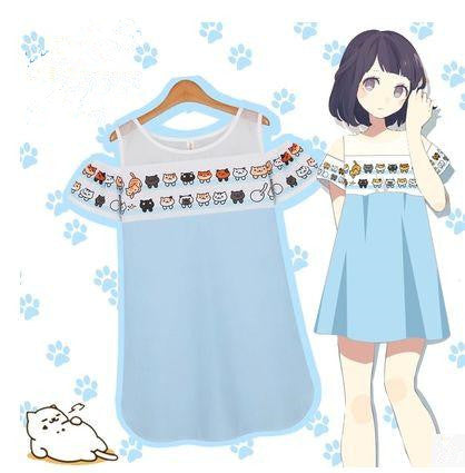 Neko Atsume Cute Cat Dress