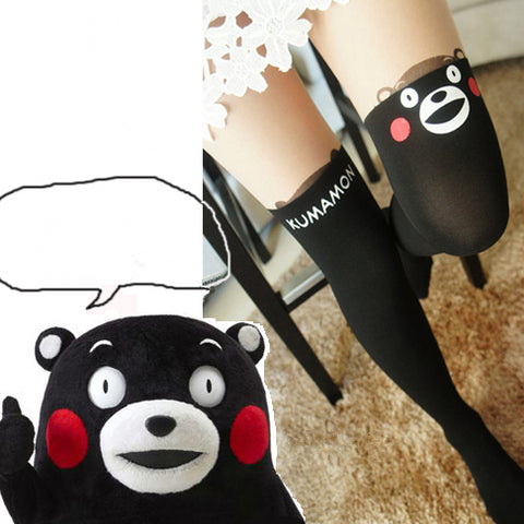 Japanese Cute Cartoon Bear Tights