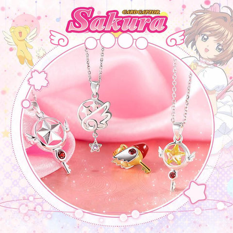 Cardcaptor Sakura Star/Bird Head Pendant Necklace  KW153092