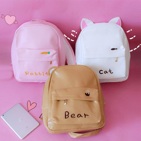 Cute Cartoon Backpack KW178815