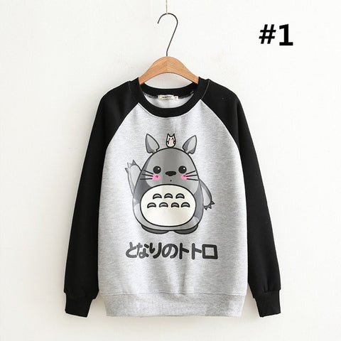 Japanese Anime Totoro Warm Sweater KW168409