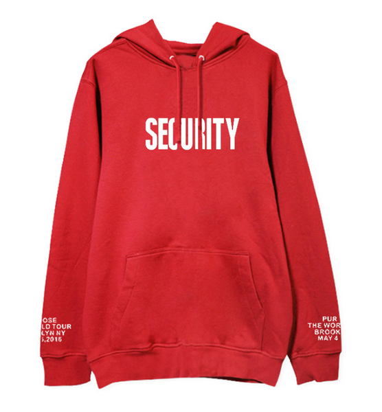 6 Colors Rap Monster Security Hoodie Jumper