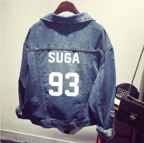 BTS Denim Jacket Coat