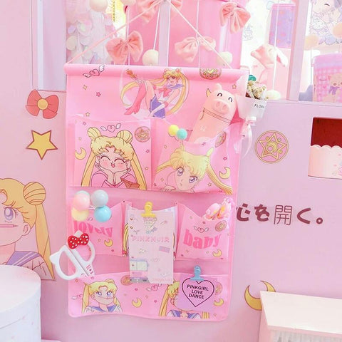 Kawaii Sailor Moon Usagi Wall Hanging Box K13439