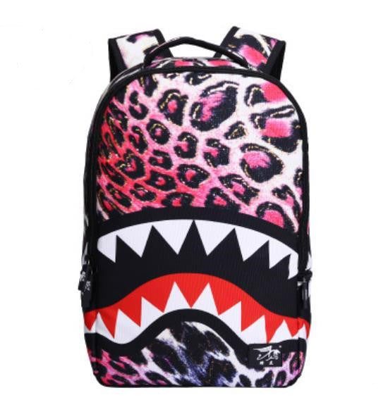 3d Cartoon Leopard Ear Backpack