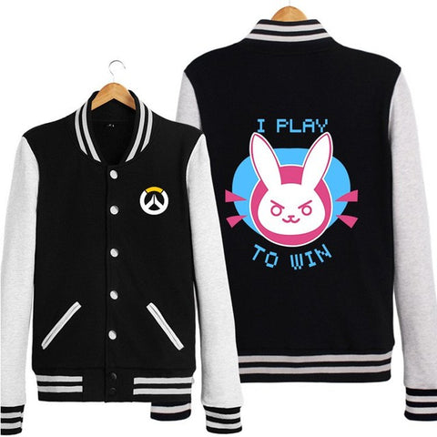 Overwatch D.VA DVA Navy Black Jacket KW1711544