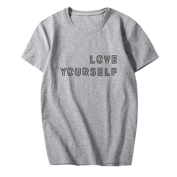 4 Colors BTS Love Yourself Tee Shirt