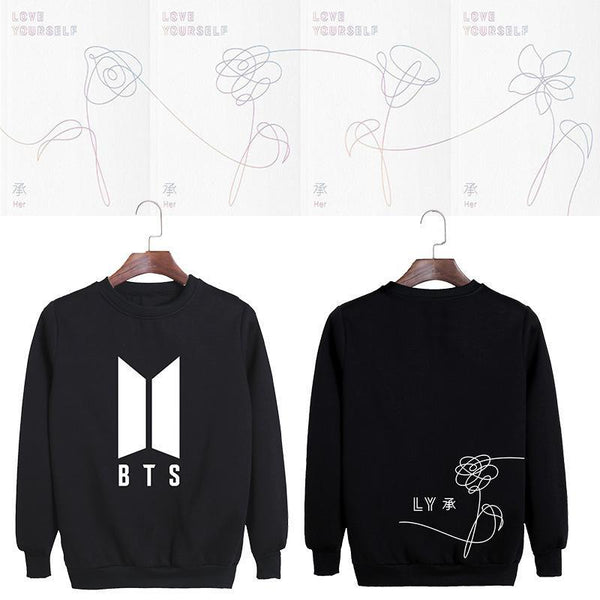 4 Colors BTS Love Yourself Pullover Jumper
