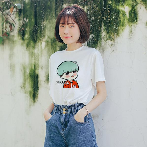BTS Kawaii Bias Tee Shirt