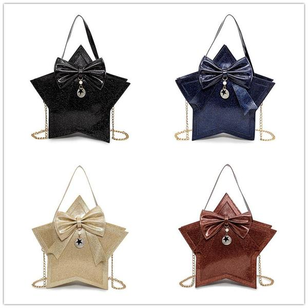 4 Colors Lolita Princess Bowknot Handbag/Shoulder Bag KW1811896