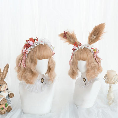 Light Brown CoKlay Lolita Kawaii Wig SA03