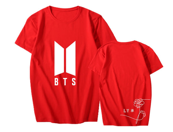 5 Colors BTS Love Yourself Tee Shirt K12643