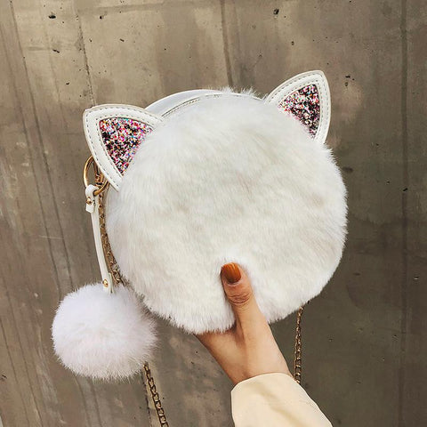 JigglyPuff Inspried Kawaii Fluffy Bag K13612