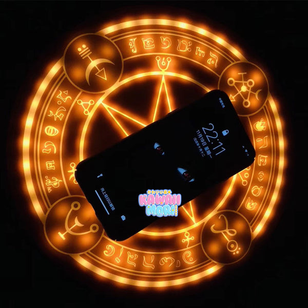 [NEW] Magic Circle Cardcaptor Sakura Brown Star Wireless Charger Pad (with Sound!) K13200