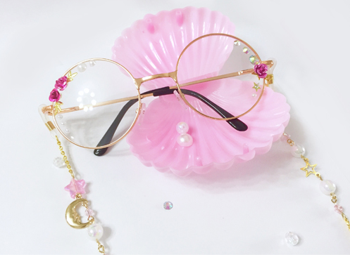 Pink Rose Glasses KW165739