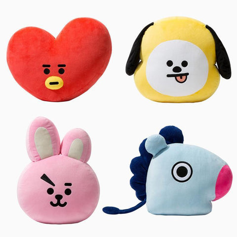 Kawaii BTS X BT21 Plush Cushion