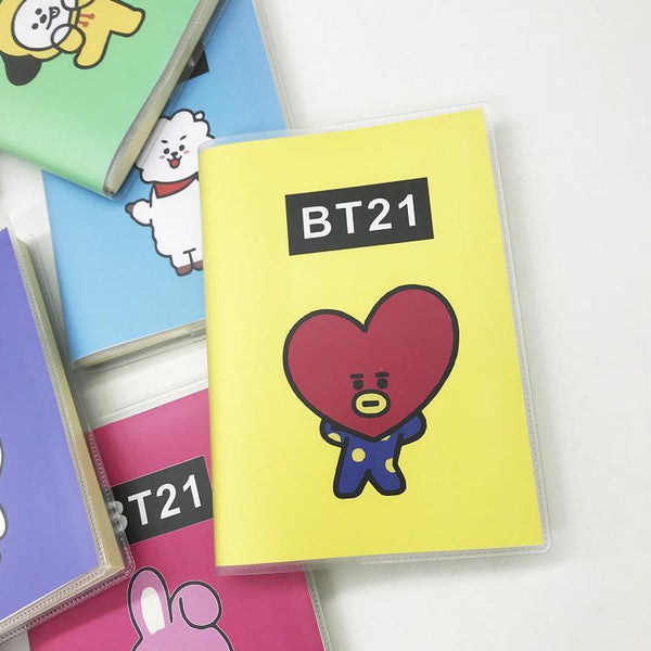 Kawaii BTS X BT21 Notebook