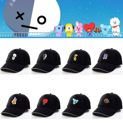 Kawaii BTS X BT21 Cap