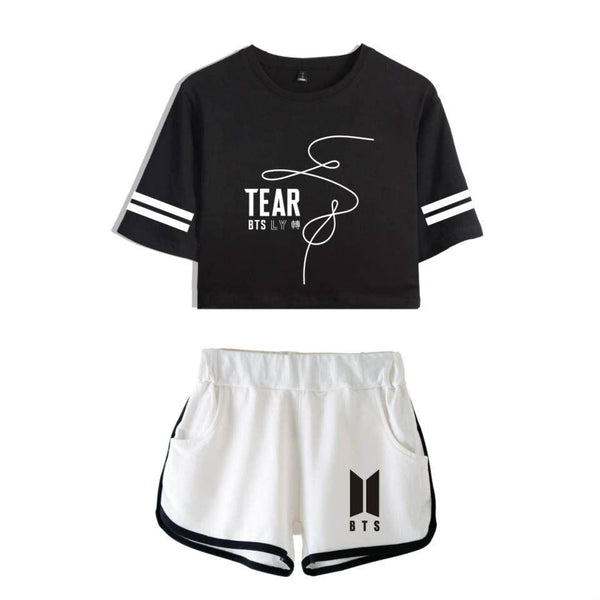 Black/White/Pink BTS Love Yourself Tear Set