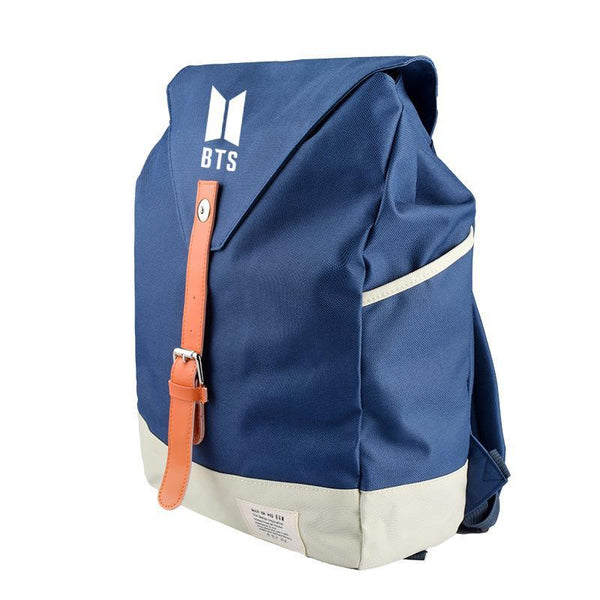 BTS Stylish Canvas Backpack