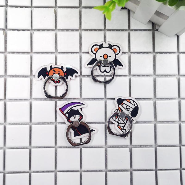 BTS BT21 Halloween Phone Finger Holder