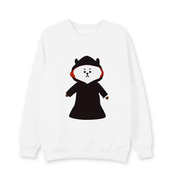 BTS BT21 Halloween Pullover Jumper
