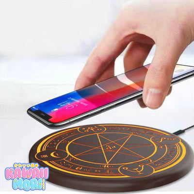 [NEW] Magic Circle Cardcaptor Sakura Brown Wireless Charger Pad (with Sound!) K13200