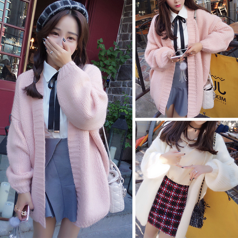 Fashion Sweater Cardigan Coat K15614 - kawaiimoristore