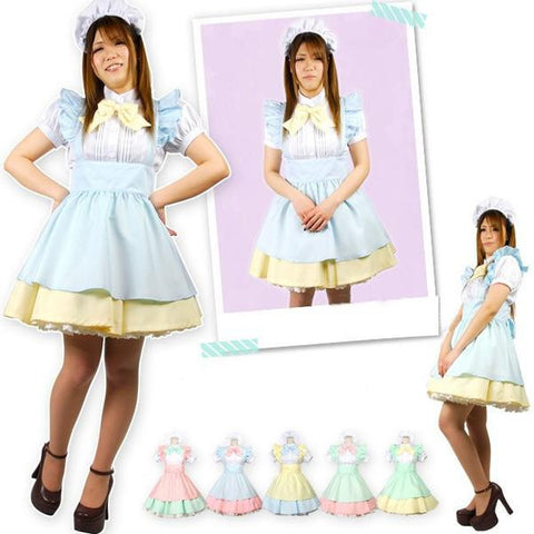 Alice In The Wonderland Maid Costume - kawaiimoristore