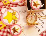 Animation Cartoon Star Pocket Watch