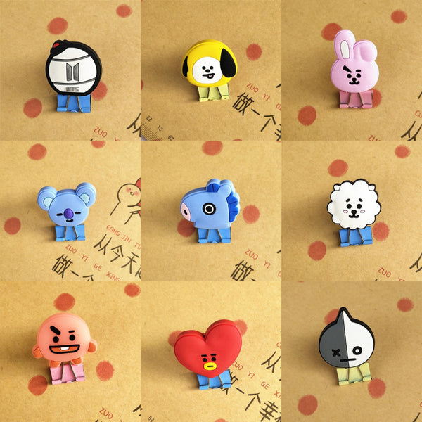 BTS BT21 Folder Clip