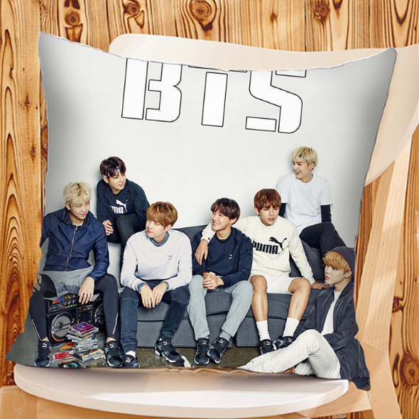 BTS Bias Pillow Cushion K12903