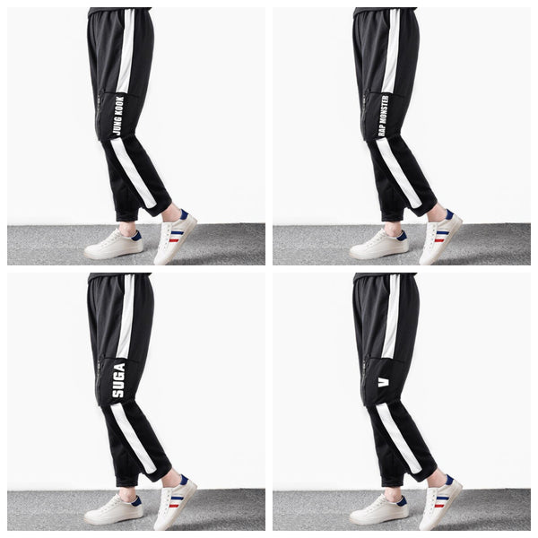 BTS Zipper Track Pants