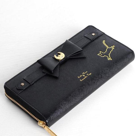 Black Sailor Moon Kitty Bow Wallet KW1711185