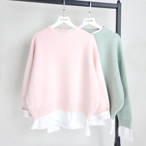 Candy Color Sweater KW1710331