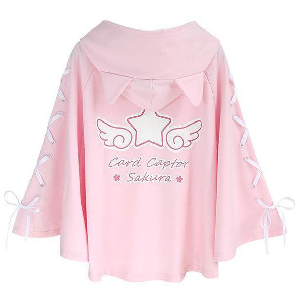 Cardcaptor Sakura Autumn Winter Cute Cape Cloak