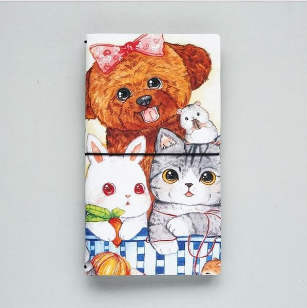 Cat Travel Journal Diary Notebook