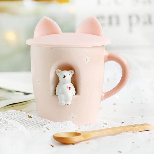 Creative Figurine Ceramic Mug KW1710864