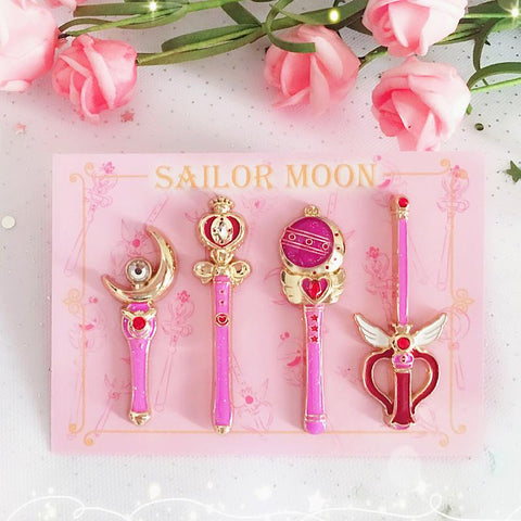 Cute Sailor Moon Brooches Pin