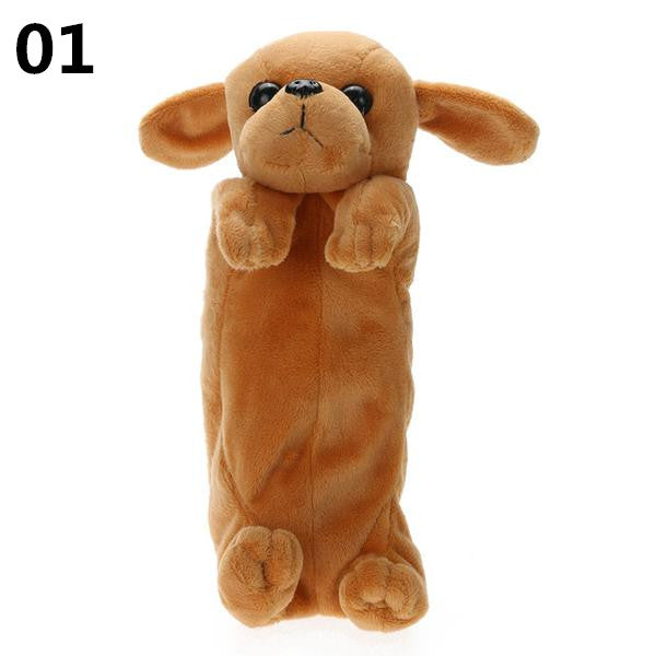 Cute School Pencilcase Kawai Hairy Dog Pencil Case Bag K12692