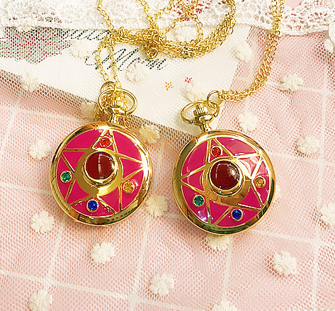 Cute Kawaii Sailor Moon Pocket Watch KW165497