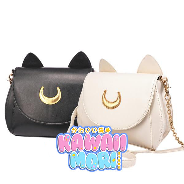 Fabric Moon-Sailor Moon Luna/Artemis Shoulder Bag KW152961