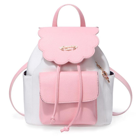 Pink/Yellow Pastel Cardcaptor Sakura Backpack K13059