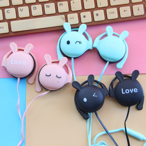 Cute Kawaii Bunny Ear Headset KW1711286