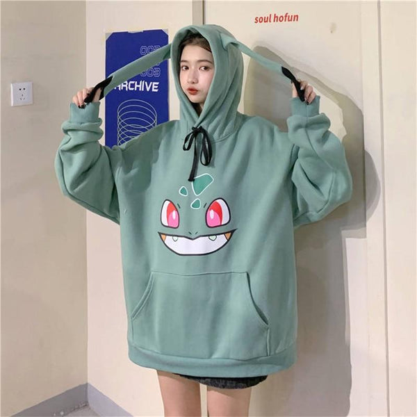6 Colors Cute Pokemon Cartoon Hoodie Jumper K14659