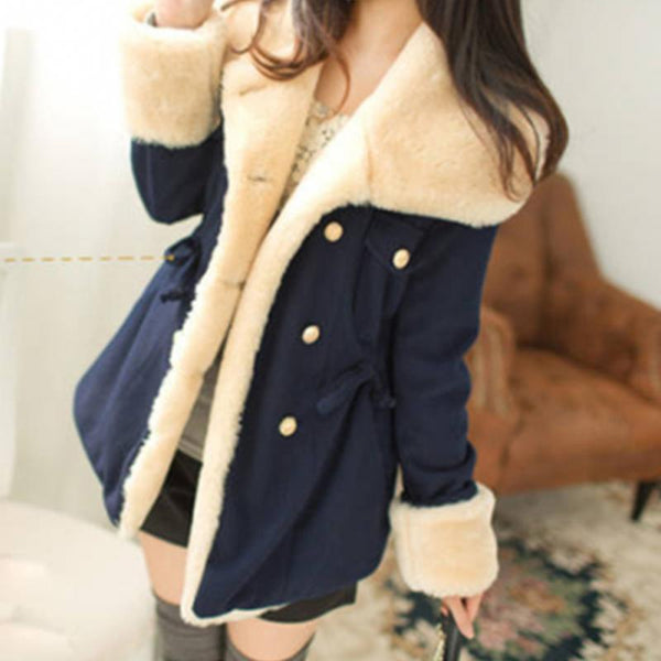 S-2XL 3 Colors Kawaii Warming Hoodie Coat K13095