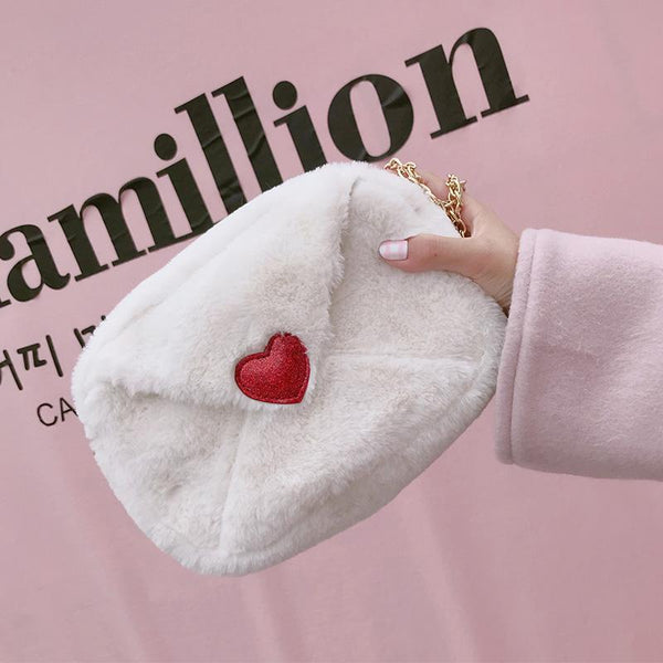 Harajuku Small Heart Purse Bag
