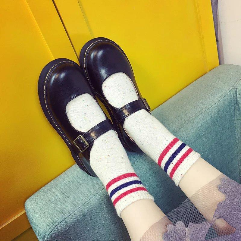 Harajuku Fashion Flat Shoes KW1812201