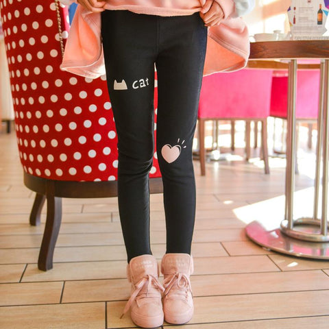 High Waisted Plus Velvet Leggings KW1811669