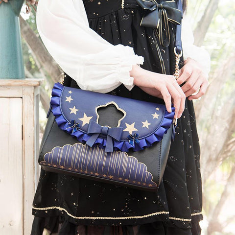 Japanese Harajuku Lolita Star Messenger Bag KW1812070